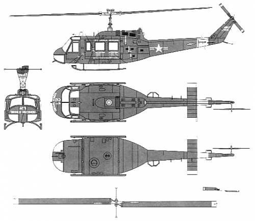 Bell 205 UH-1D Huey