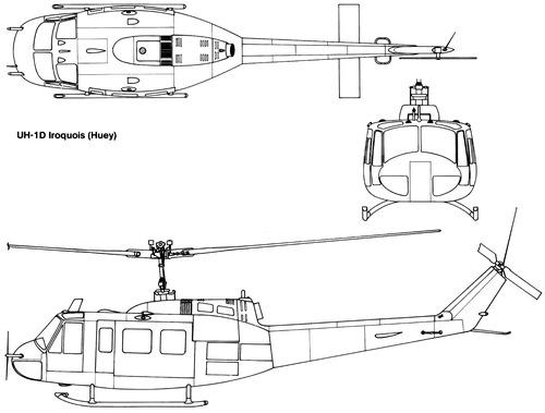 Bell 205 UH-1D Iroquis Huey
