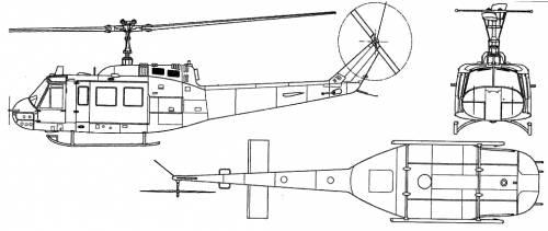 Bell 205 UH-1D Iroquois