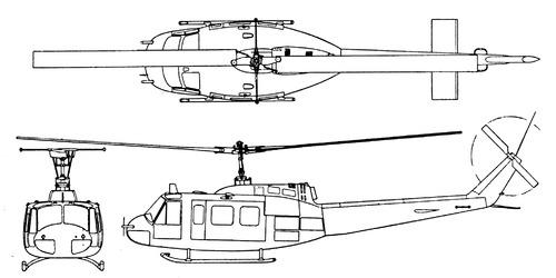 Bell 205 UH-1D Iroquois - Huey