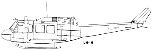 Bell 205 UH-1H Iroquois Huey