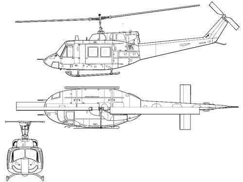 Bell 205 UH-1N Iroquois - Huey