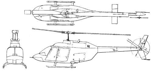 Bell 206 B3