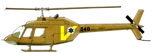 Bell 206 OH-58A Saifan