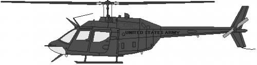 Bell 206 OH-58B Kiowa