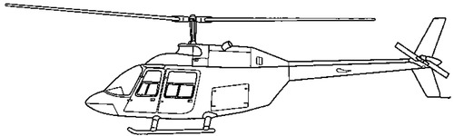 Bell 206B-1 Kiowa