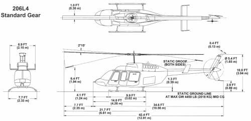 Bell 206L4 Standard Gear