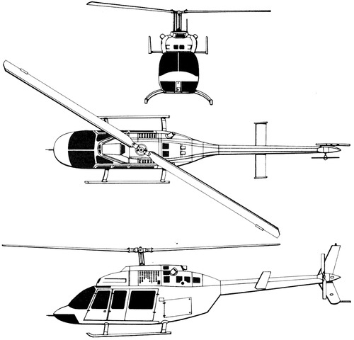 Bell 206LT TwinRanger