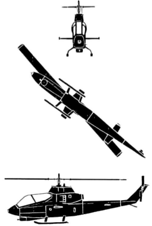 Bell 209 AH-1G HueyCobra