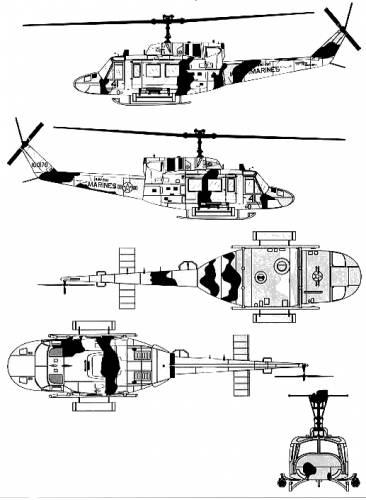 Bell 212 UH-1N Huey-2
