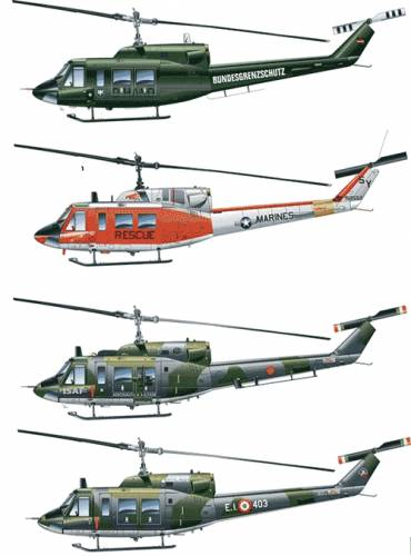 Bell 212 UH-1N Iroquis