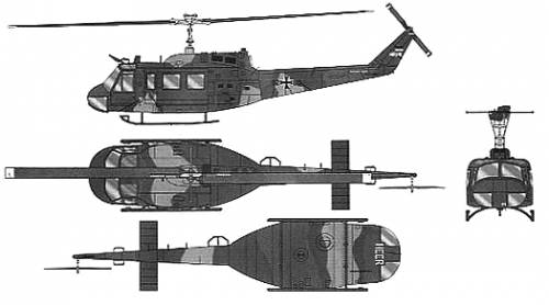Bell 214 UH-1H Heuy