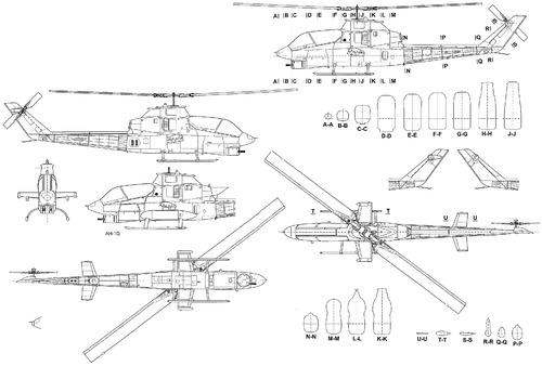Bell AH-1G HueyCobra