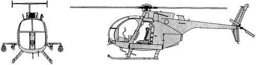 Bell AH-6J Little Bird