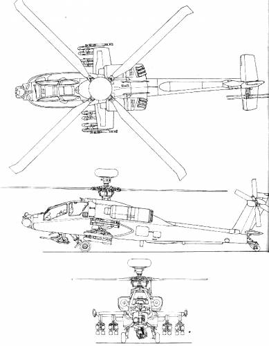 Boeing AH 64D Apache Longbow