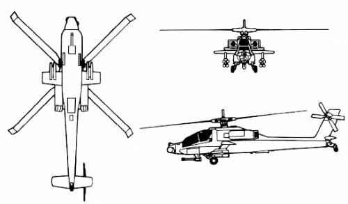 Boeing-McDonnel-Douglas AH-64 Apache