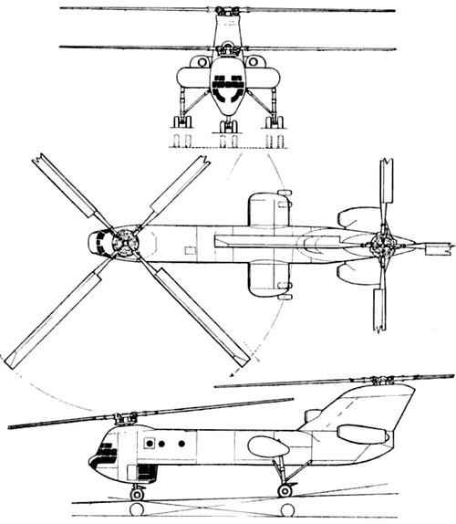 Boeing Vertol 301 XCH-62 HLH