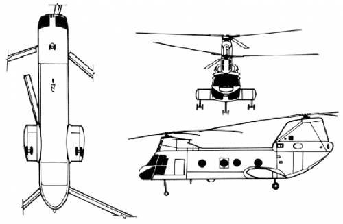 Boeing Vertol CH-46A Sea Knight