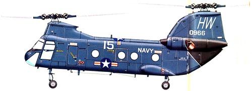 Boeing-Vertol CH-46A Sea Knight