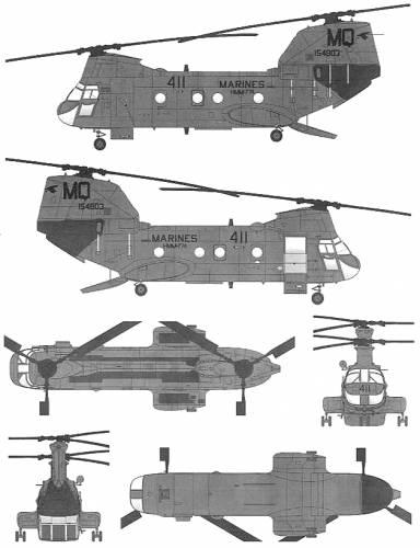 Boeing-Vertol CH-46F Seaknight