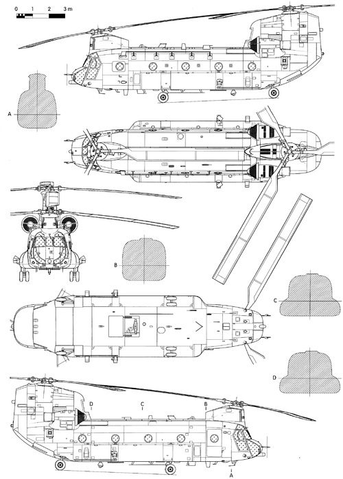 Boeing-Vertol CH-47 HC.2 Chinook
