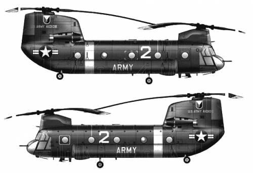 Boeing-Vertol CH-47A Chinook