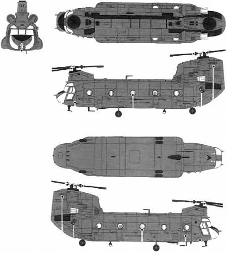 Boeing Vertol CH-47D Chinook