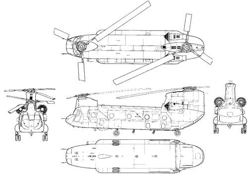 Boeing-Vertol CH-47D Chinook
