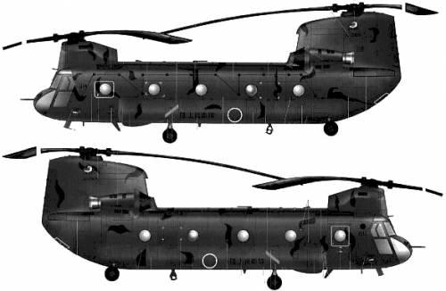 Boeing-Vertol CH-47J Chinook