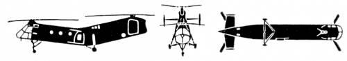 Boeing Vertol H-21 Shawnee