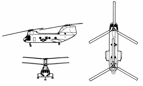 Boeing Vertol H-46d Sea Knight
