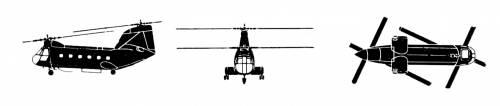Boeing Vertol HC-1 Chinook
