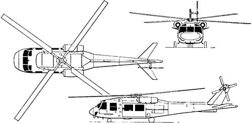 Boeing Vertol YUH-61