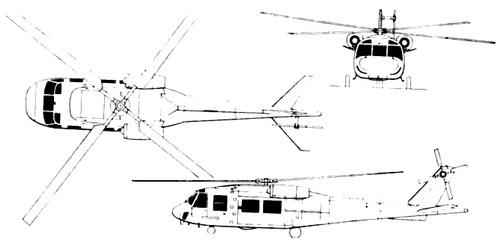 Boeing Vertol YUH-61A