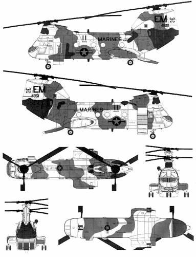 Vertol CH-46E Seaknight