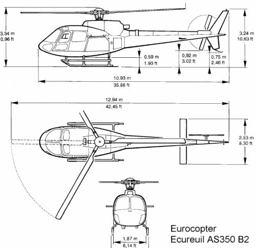 Eurocopter AS350 B2