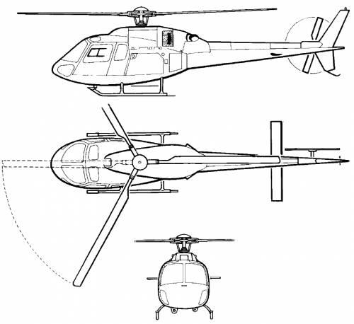 Eurocopter AS355 N