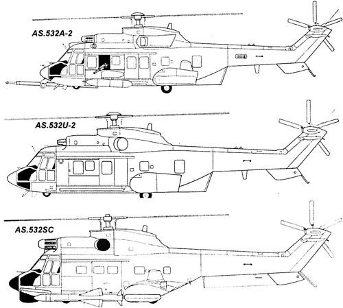 Eurocopter AS532 Cougar (Airbus Helicopters H215M)