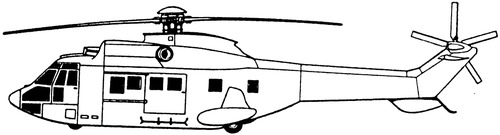 Eurocopter AS-332L-2 Super Puma