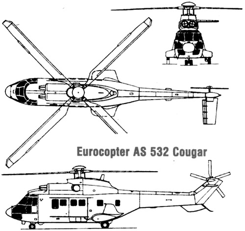 Eurocopter AS-532 Cougar