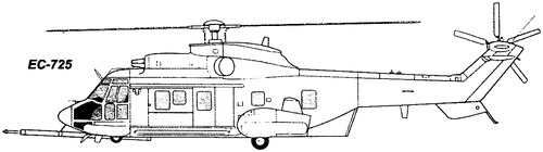 Eurocopter EC725 Caracal (Airbus Helicopters H225M)