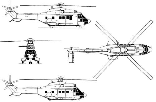 Eurocopter EC-225 Super Puma Mk2