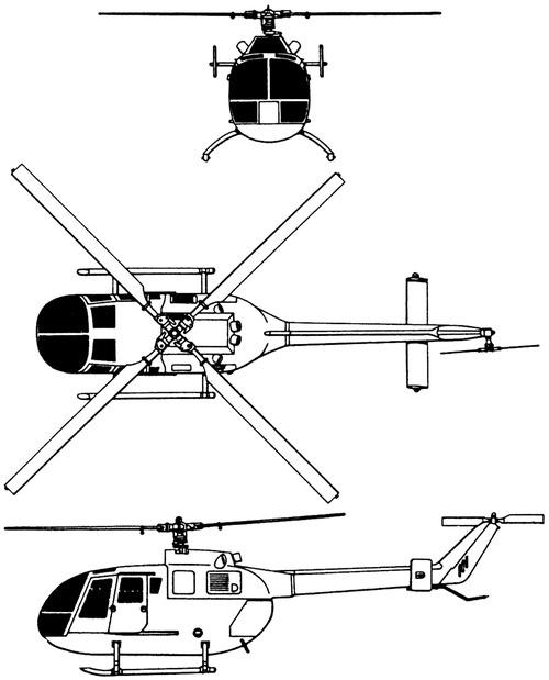 Eurocopter (MBB) Bo-105CBS