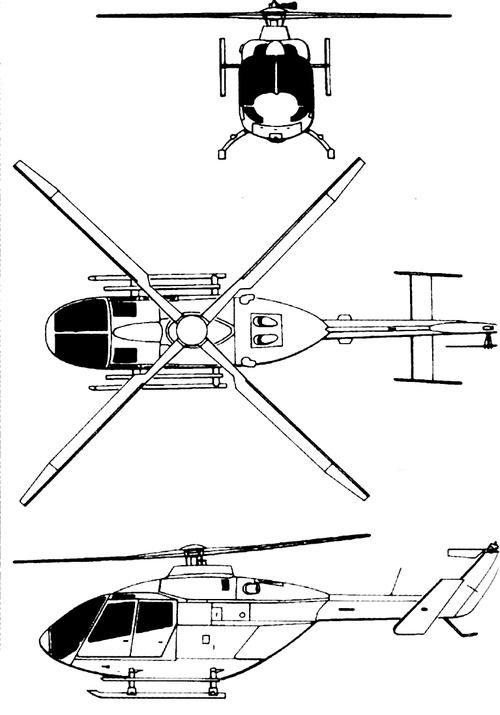 Eurocopter (MBB) Bo-108
