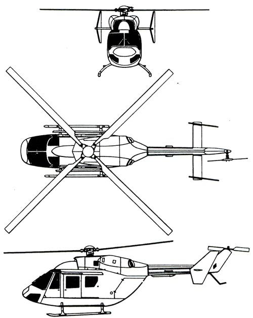 Eurocopter (MBB-Kawasaki) BK117