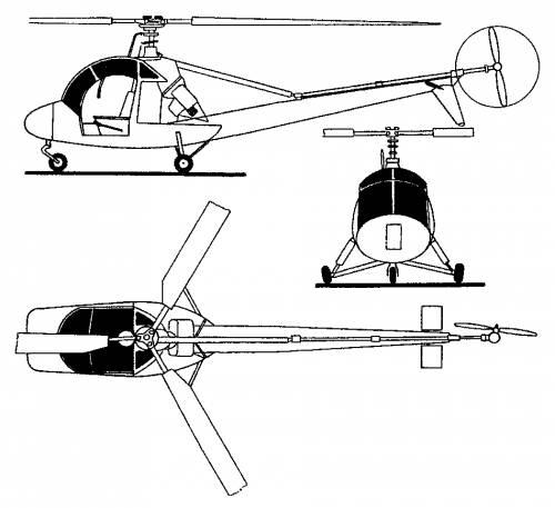 Aero HC-2 Heli Baby