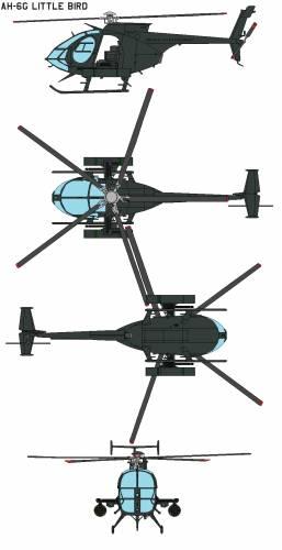 AH-6G Little Bird