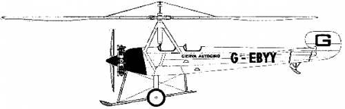 Autogiro Cierva C8L-II