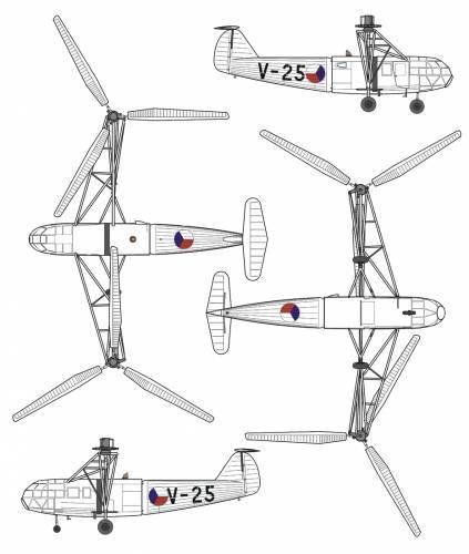 Avia VR-3 [Focke Achgelis FA-223 Drache]