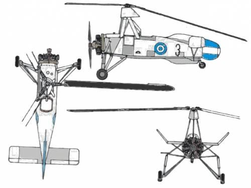 Cierva C.30 Autogyro- Avro 671 Rota